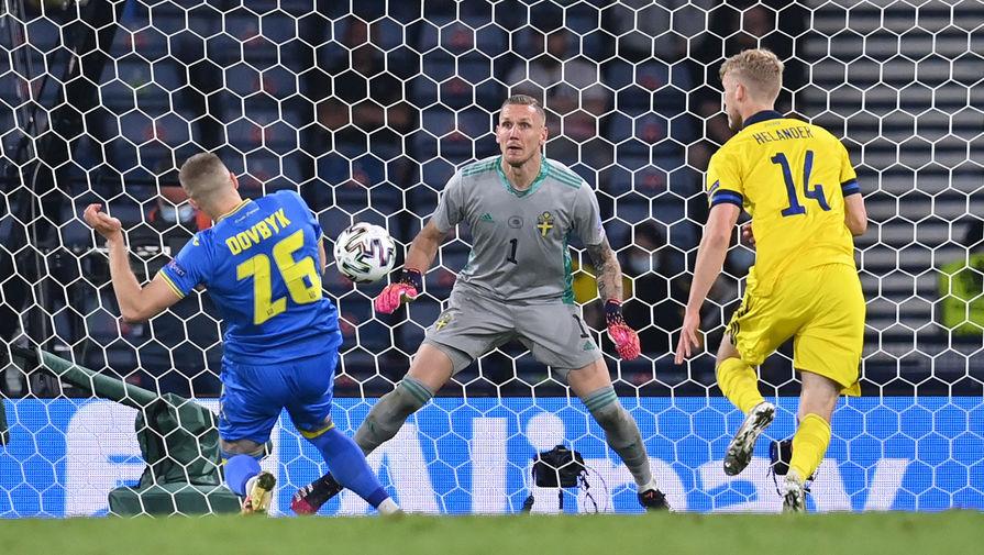 Игрок сборной Швеции сравнил поражение от Украины в 1/8 финала Евро с ножом в сердце