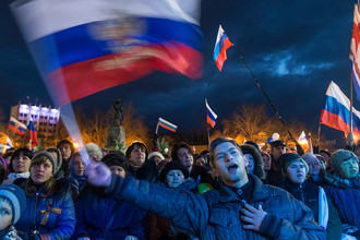 Мероприятия в Севастополе в честь годовщины присоединения Крыма к России, 18 марта 2015 года