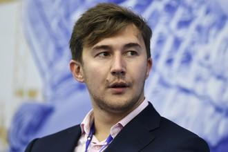 Вице-чемпион мира Сергей Карякин