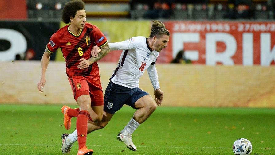 эпизод матча Бельгия- Англия
