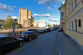 Побег состоялся у здания СК на набережной Мойки в Санкт-Петербурге