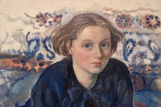 З.Е. Серебрякова. Портрет Екатерины. 1929