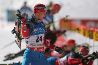 Александр Логинов побил личный рекорд, став вторым на этапе Кубка мира