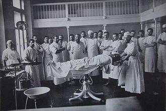 Ново-Екатерининская больница сто лет назад