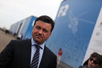 Губернатор Подмосковья Андрей Воробьев на выставке «Оборонэкспо-2014»