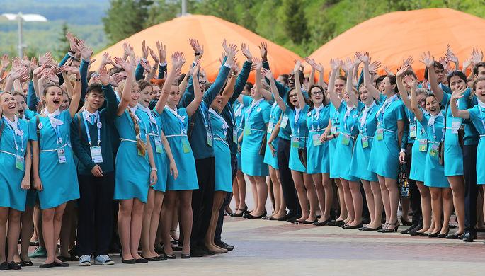Волонтеры саммитов ШОС и БРИКС в Уфе