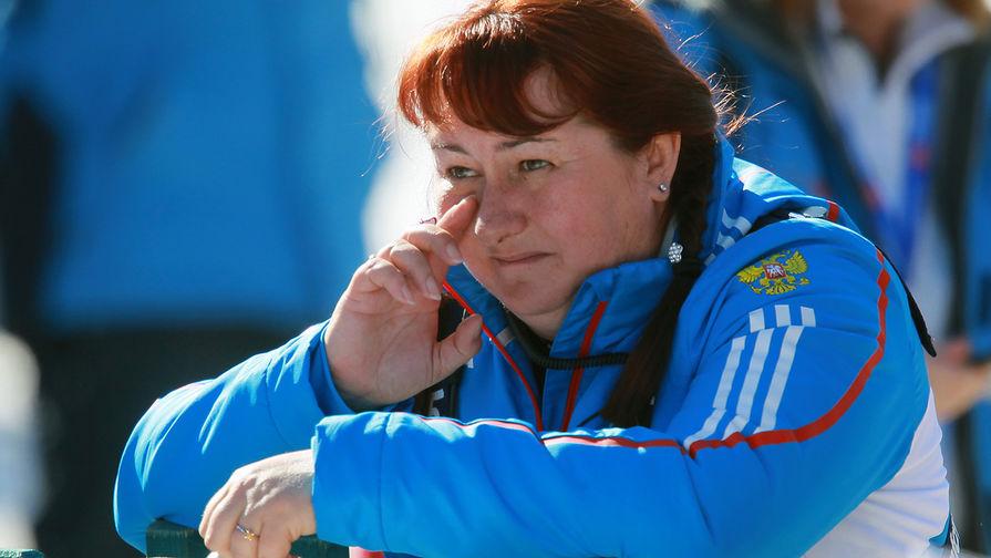Елена Вяльбе на чемпионате мира по лыжным видам спорта в итальянском Валь-ди-Фьемме, 2013 год