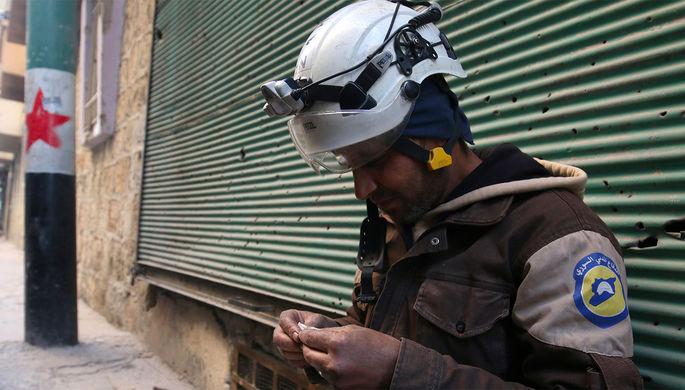 400 л химраствора: «Белые каски» готовят новую акцию