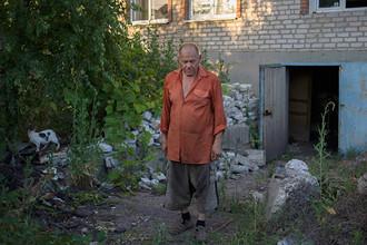 Житель одного из поселков Донецкой области