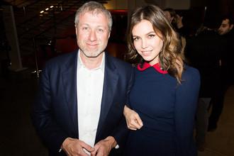 Роман Абрамович с Дарьей Жуковой