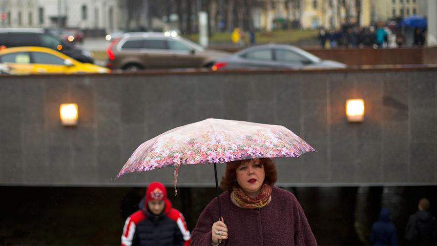 Дождь в Москве, 20 марта 2017 года