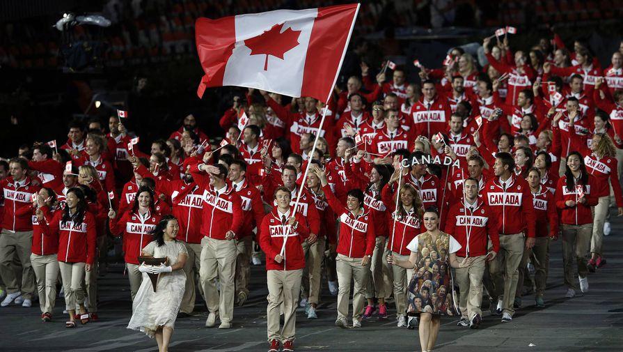 Канада на церемонии открытия Олимпиады-2012