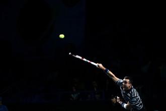 Испанский теннисист Роберто Баутиста-Агут