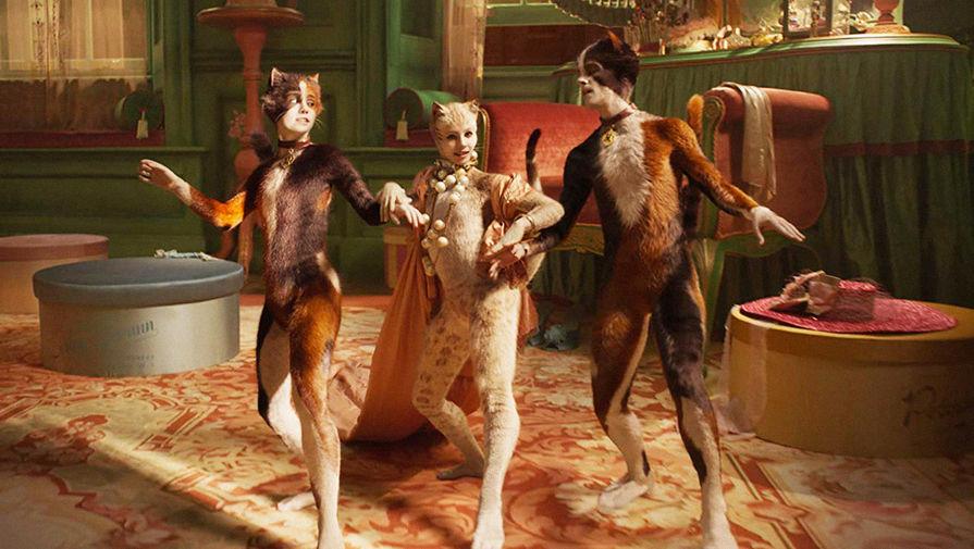 Кадр из мюзикла «Кошки» (2019)