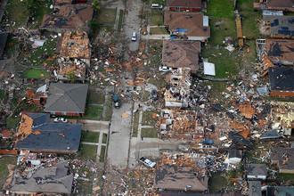 Последствия торнадо в Новом Орлеане, штат Луизиана