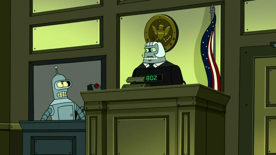 кадр из мультсериала Futurama