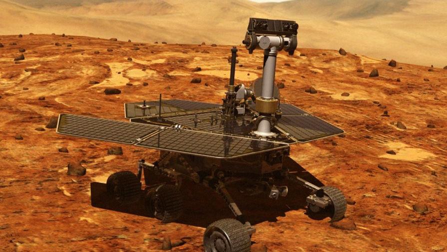Марсоход Opportunity отключился из-за пылевой бури