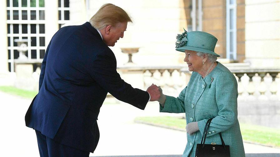 Трамп нарушил протокол во время банкета в Букингемском дворце