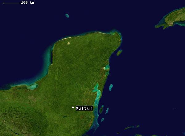 Находка была сделана в Шультуне — одном из крупнейших «мертвых городов» майя. Город расположен...