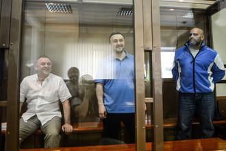 Лом-Али Гайтукаев, Рустам Махмудов и Сергей Хаджикурбанов