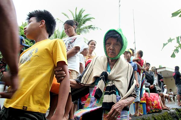 Жители многих районов были эвакуированы. <br />Фотография: Charism Z. Sayat/AFP/Getty Images