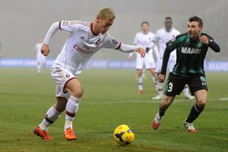 Дебют Кейсуке Хонды за «Милан» оказался смазанным