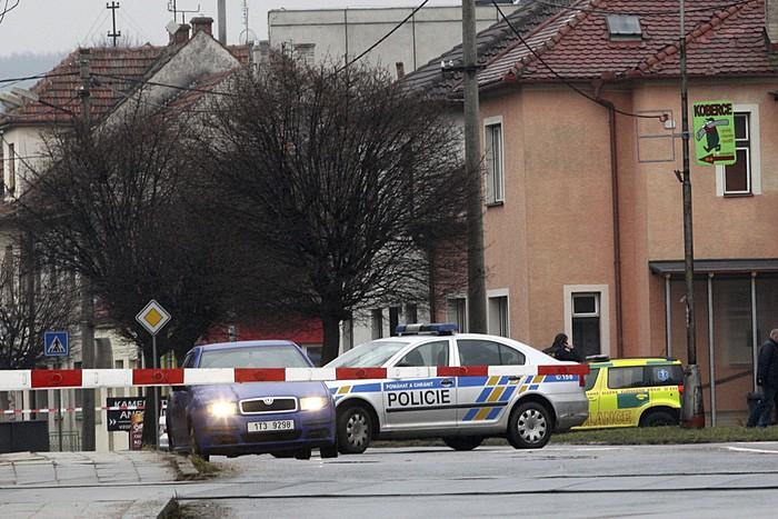 В Чехии произошел пожар на территории посольства США