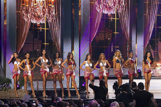 Финал ежегодного конкурса «Мисс США»