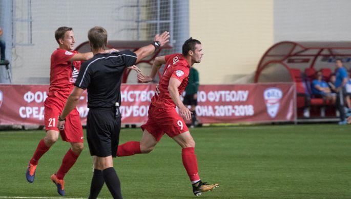 Футболисты красноярского «Енисея»