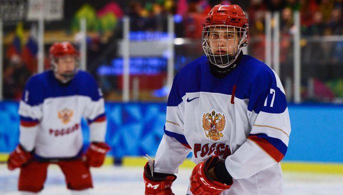 Российский нападающий Александр Хованов