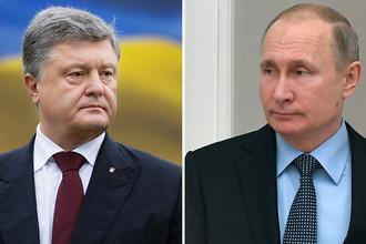 «Я не слышал»: Путин не угрожал Порошенко