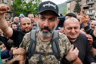 Лидер оппозиции Армении Никол Пашинян