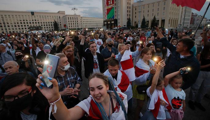 Протесты в Белоруссии, 24 августа 2020 года