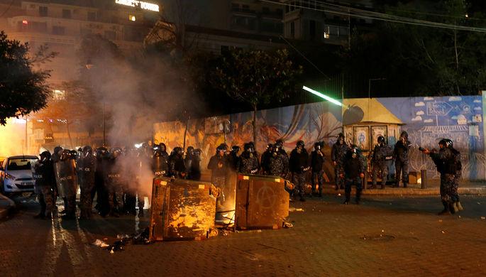 Ситуация в Бейруте, 16 января 2020 года