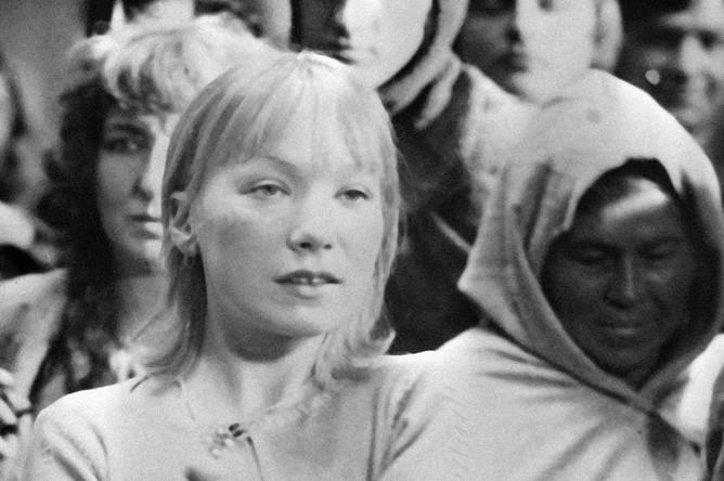 Елена Коренева в роли Анны Ярославны в фильме Игоря Масленникова «Ярославна, королева Франции», 1978 год