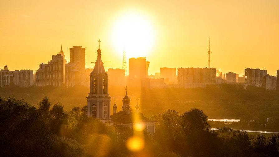 В Москве в среду ожидается до +30°С