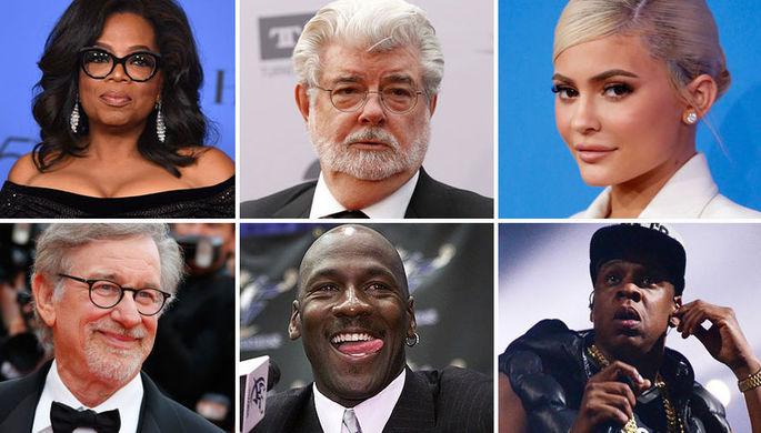 Слава и деньги: названы самые богатые знаменитости