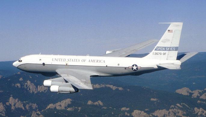 Над Чукоткой пролетел самолет-разведчик США