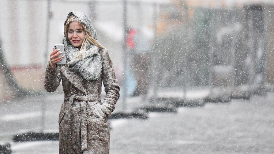 Снегопад в Москве, 1 марта 2019 года