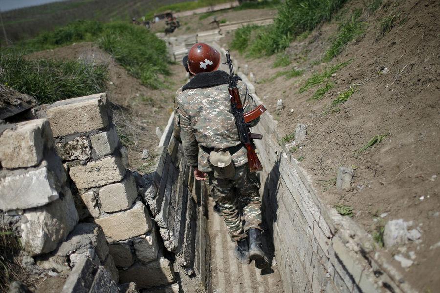 Боевые действия вНагорном Карабахе, 27сентября 2020года