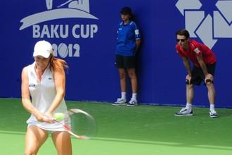 Алла Кудрявцева стартовала в Баку с победы