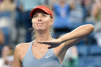 Мария Шарапова обсудила итоги второго круга Открытого чемпионата США по теннису