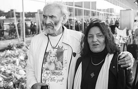 Родители Фатимы — Ежи и Анжела Дышински