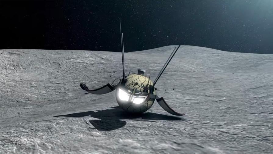 3D-модель советской космической станции «Луна-9»