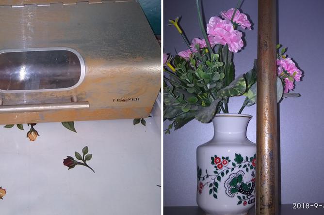 Ржавчина на предметах интерьера у жителей Армянска
