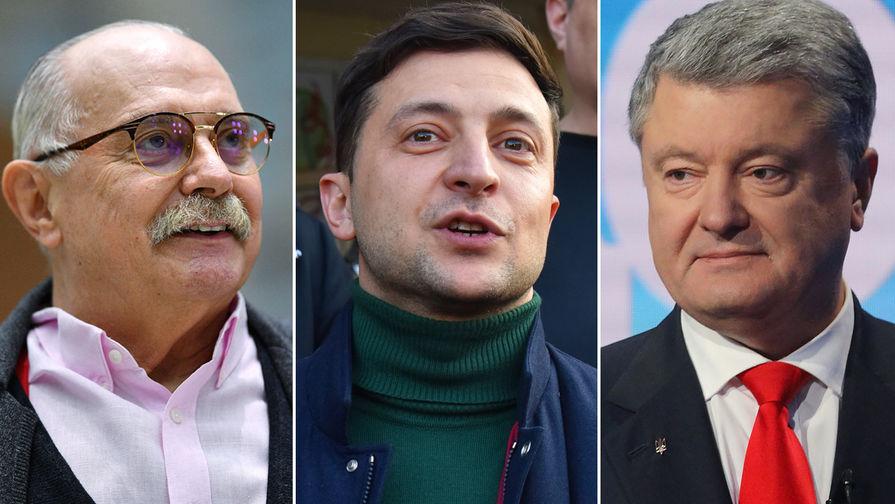 Михалков заявил, что у Зеленского хорошие шансы на победу на выборах
