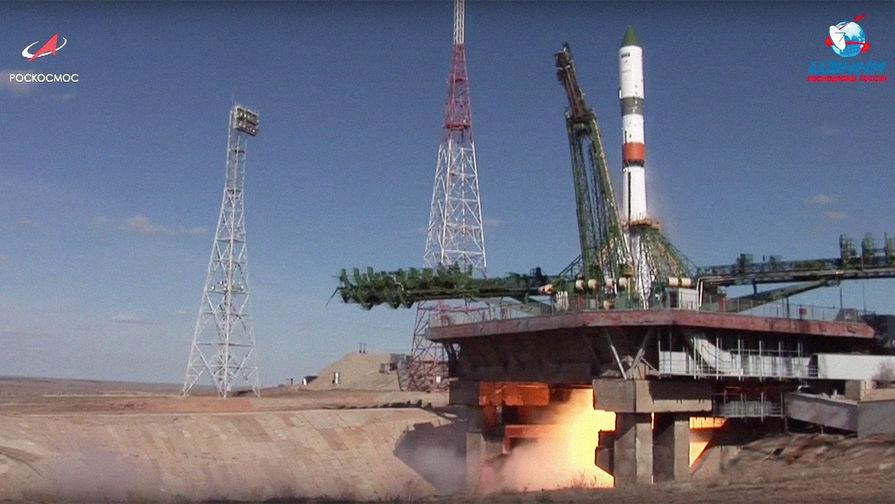 Ракета «Союз» стартовала с Байконура