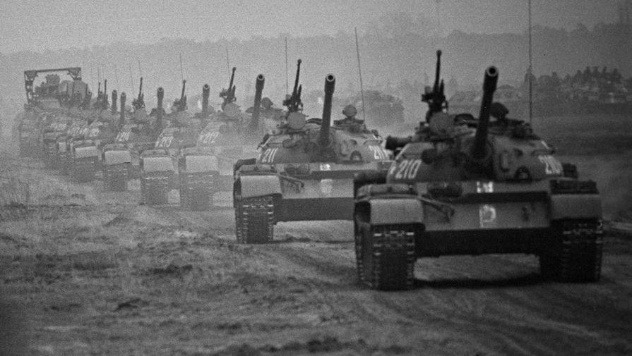 Общевойсковые учения «Братство по оружию» Советского Союза и стран Варшавского договора в ГДР, 1970 год