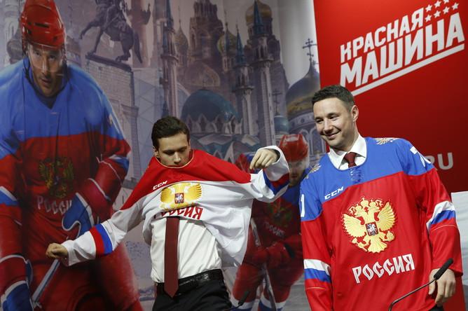 30 октября в Москве, в демонстрационном зале ГУМ состоялась пресс-конференция Федерации хоккея России и Оргкомитета чемпионата мира — 2016.