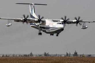 Китай разработал самый большой самолет-амфибию в мире AG600